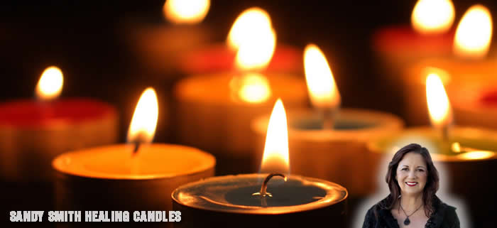 healing candles by sandy smith
